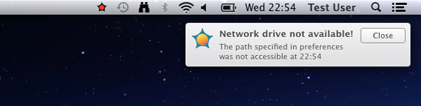 NetDriveStatus Notification